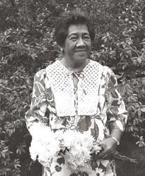 Photo de la chamane Morrah Nalamaku Simeona